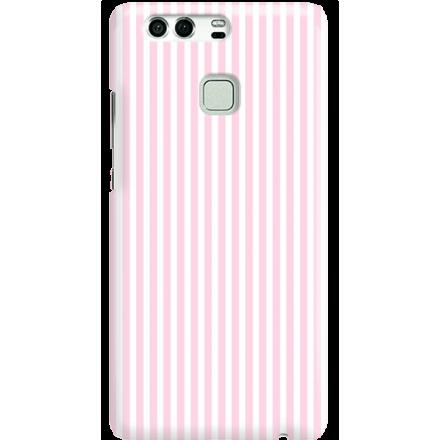 Etui na telefon Huawei P9 Candy Różowe Paski