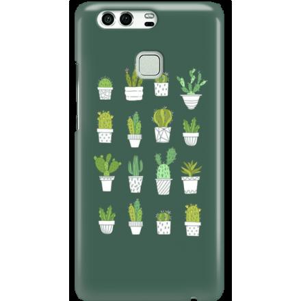 Etui na telefon Huawei P9 Kaktusy