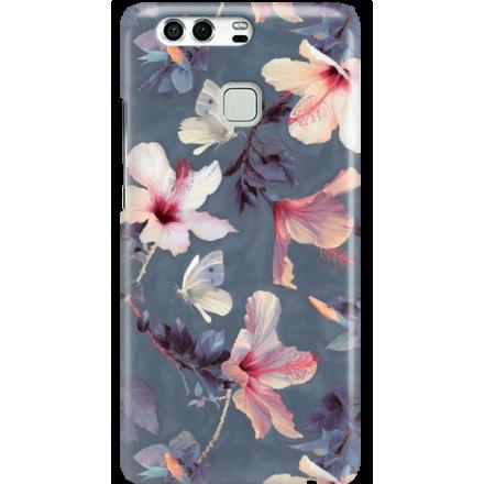 Etui na telefon Huawei P9 Kwiatowy Ogród