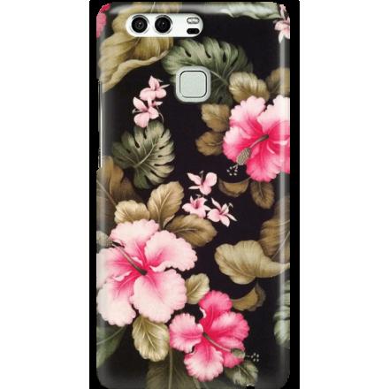 Etui na telefon Huawei P9 Kwiatowy Raj