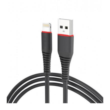 KABEL USB iPHONE 5G [szybkie ładowanie]QUICK CHARGE CZARNY