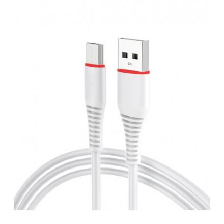 KABEL USB MICRO USB [szybkie ładowanie]QUICK CHARGE BIAŁY