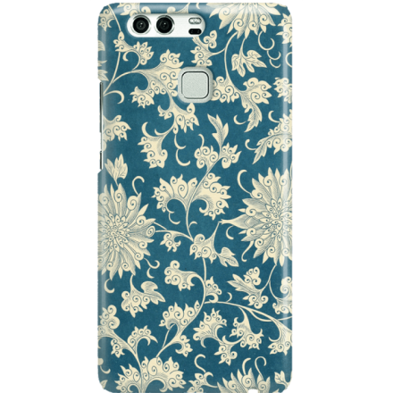 Etui na telefon Huawei P9 Kwiaty Ornamenty