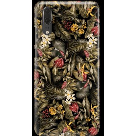 Etui na telefon Huawei P20 Egzotyczne Rośliny