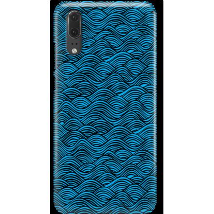 Etui na telefon Huawei P20 Falujące Morze