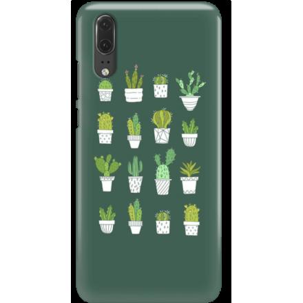 Etui na telefon Huawei P20 Kaktusy