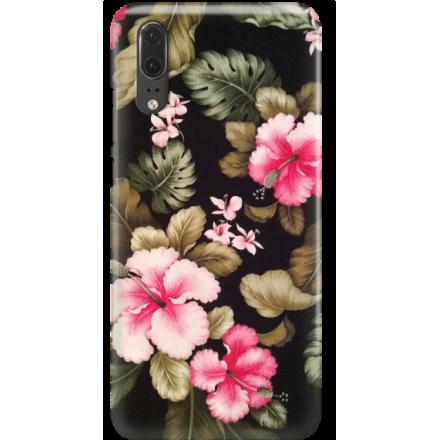 Etui na telefon Huawei P20 Kwiatowy Raj