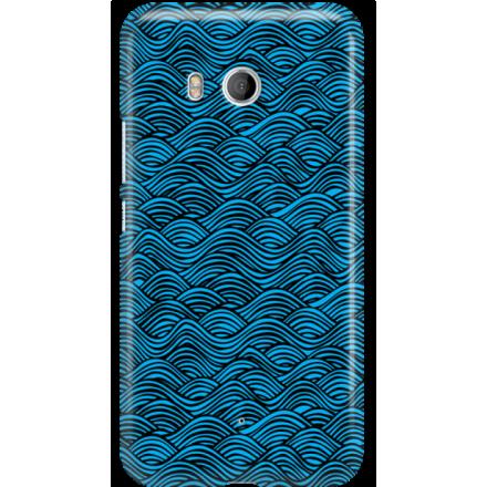 Etui na telefon HTC U11 Falujące Morze