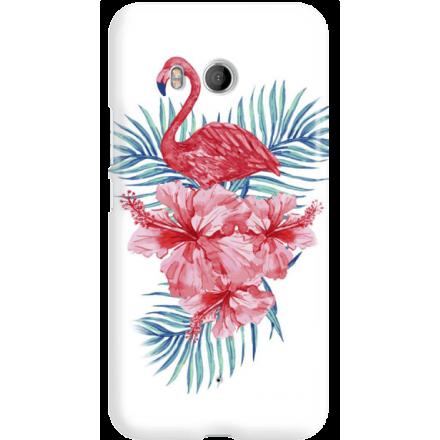 Etui na telefon HTC U11 Król Flaming