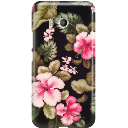 Etui na telefon HTC U11 Kwiatowy Raj