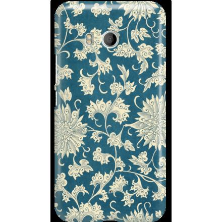 Etui na telefon HTC U11 Kwiaty Ornamenty