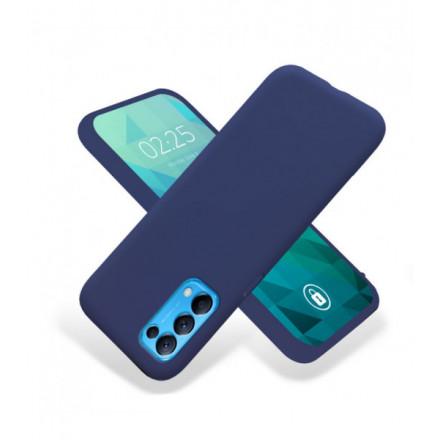 ETUI GUMA SMOOTH NA TELEFON  OPPO RENO 5 4G / RENO 5 5G / FIND X3 LITE GRANATOWY