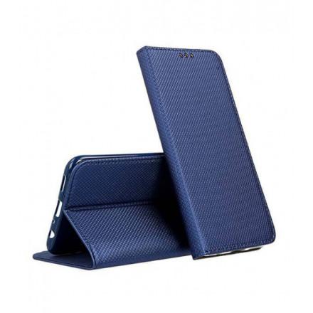 ETUI BOOK MAGNET NA TELEFON SAMSUNG GALAXY A12 / M12 / F12 GRANATOWY