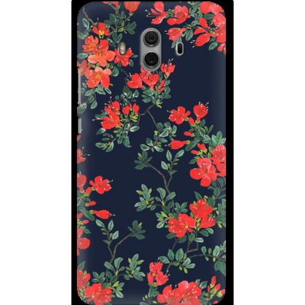 Etui na telefon Huawei Mate 10 Czerwone Kwiaty
