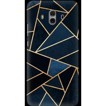 Etui na telefon Huawei Mate 10 Geometyczne Indygo