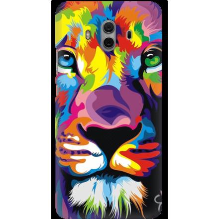 Etui na telefon Huawei Mate 10 Kolorowy Lew