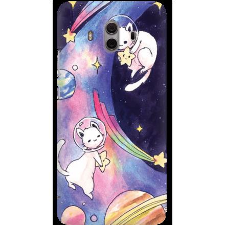 Etui na telefon Huawei Mate 10 Kosmiczne Koty