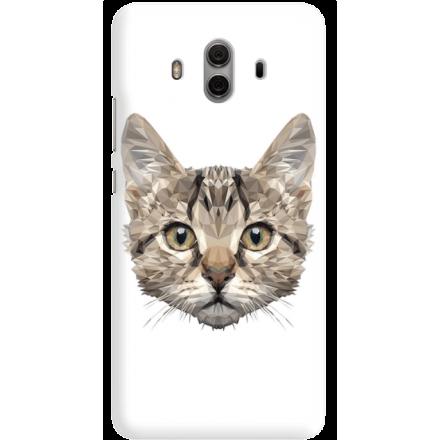 Etui na telefon Huawei Mate 10 Kot Geometryczny