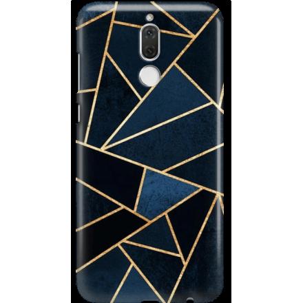 Etui na telefon Huawei Mate 10 Lite Geometyczne Indygo
