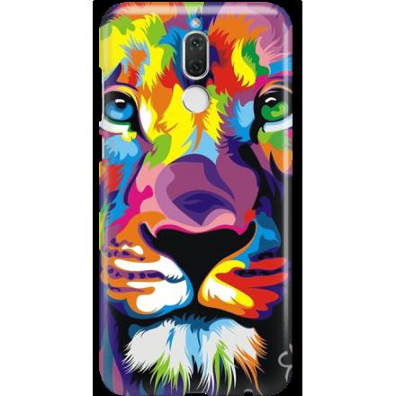 Etui na telefon Huawei Mate 10 Lite Kolorowy Lew