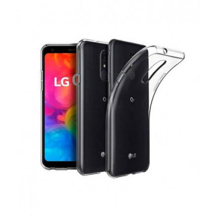 ETUI PROTECT CASE 2mm NA TELEFON  LG Q7 TRANSPARENTNY