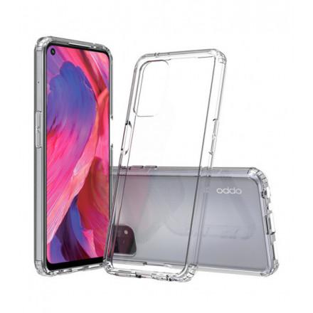 ETUI PROTECT CASE 2mm NA TELEFON  OPPO A74 4G TRANSPARENTNY