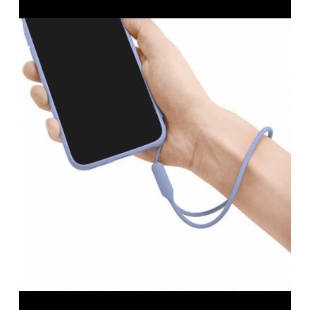 SMYCZ GUMOWA UNIWERSALNA DO TELEFONU / ETUI FIOLETOWY