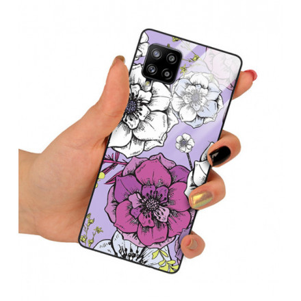 ETUI BLACK CASE GLASS NA TELEFON SAMSUNG GALAXY A42 5G ST_RZO-2021-1-103