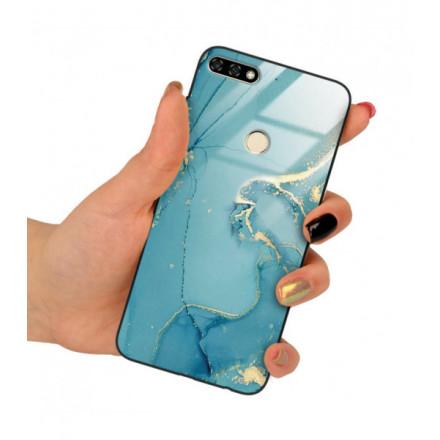 ETUI BLACK CASE GLASS NA TELEFON HUAWEI HONOR 7A ST_RZO-2021-1-105