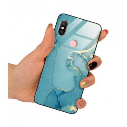 ETUI BLACK CASE GLASS NA TELEFON XIAOMI REDMI NOTE 6 / 6 PRO ST_RZO-2021-1-105