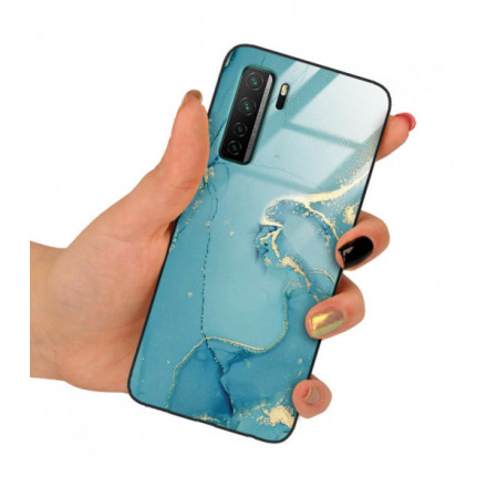 ETUI BLACK CASE GLASS NA TELEFON HUAWEI P40 LITE 5G / NOVA 7SE ST_RZO-2021-1-105