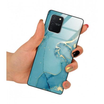 ETUI BLACK CASE GLASS NA TELEFON SAMSUNG GALAXY A91 / S10 LITE ST_RZO-2021-1-105