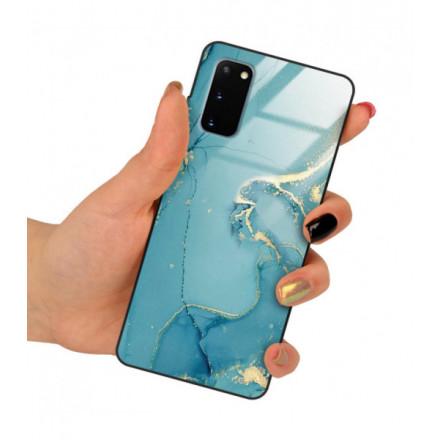 ETUI BLACK CASE GLASS NA TELEFON SAMSUNG GALAXY S20  / S11 LITE ST_RZO-2021-1-105