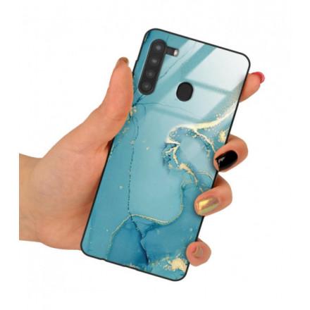 ETUI BLACK CASE GLASS NA TELEFON SAMSUNG GALAXY A21 ST_RZO-2021-1-105