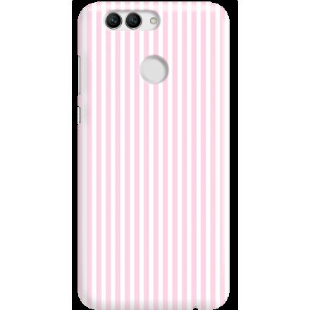 Etui na telefon Huawei Nova 2 Candy Różowe Paski