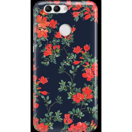 Etui na telefon Huawei Nova 2 Czerwone Kwiaty