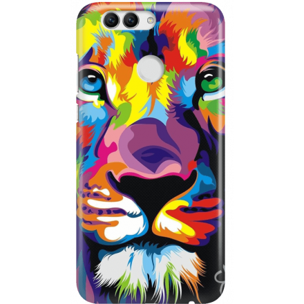 Etui na telefon Huawei Nova 2 Kolorowy Lew
