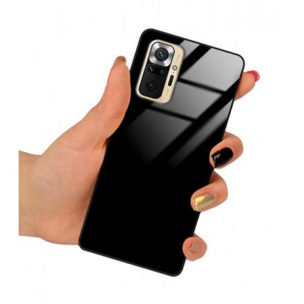 ETUI BLACK CASE GLASS NA TELEFON XIAOMI REDMI NOTE 10 PRO CZARNY
