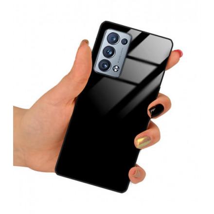 ETUI BLACK CASE GLASS NA TELEFON OPPO RENO 6 PRO PLUS CZARNY