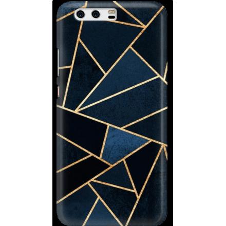 Etui na telefon Huawei P10 Geometyczne Indygo