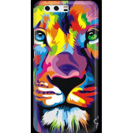 Etui na telefon Huawei P10 Kolorowy Lew