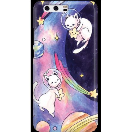 Etui na telefon Huawei P10 Kosmiczne Koty