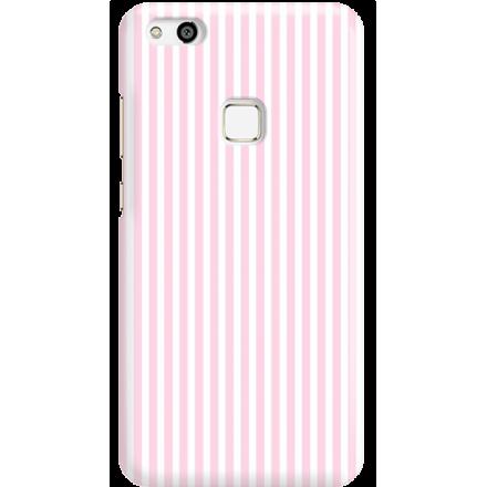 Etui na telefon Huawei P10 Lite Candy Różowe Paski