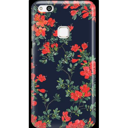 Etui na telefon Huawei P10 Lite Czerwone Kwiaty