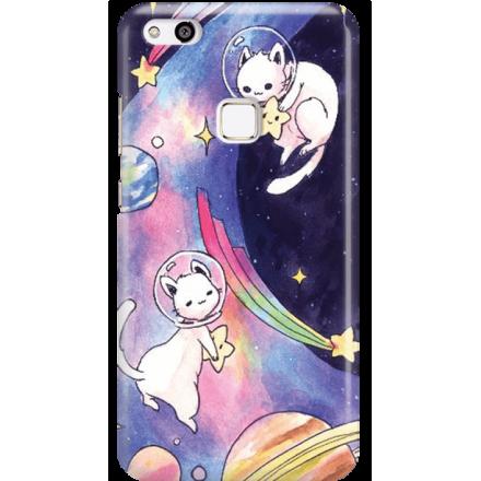Etui na telefon Huawei P10 Lite Kosmiczne Koty