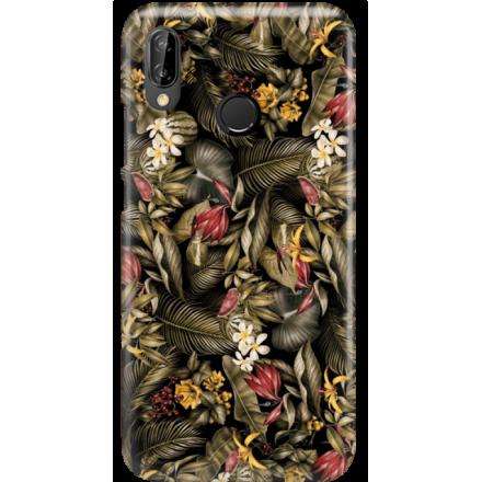 Etui na telefon Huawei P20 Lite Egzotyczne Rośliny