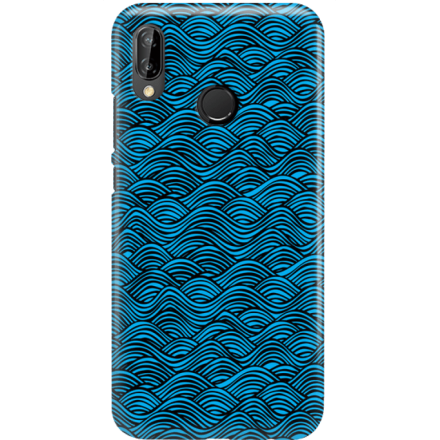 Etui na telefon Huawei P20 Lite Falujące Morze