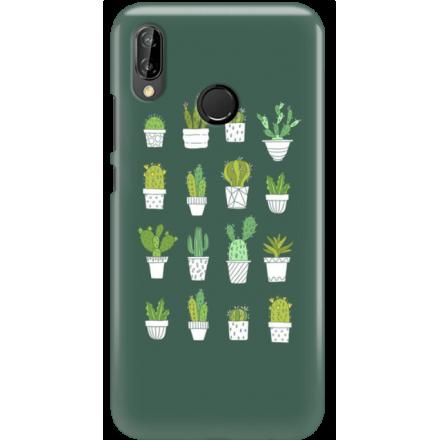 Etui na telefon Huawei P20 Lite Kaktusy