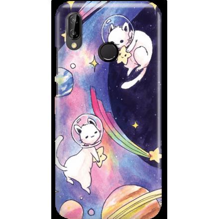 Etui na telefon Huawei P20 Lite Kosmiczne Koty