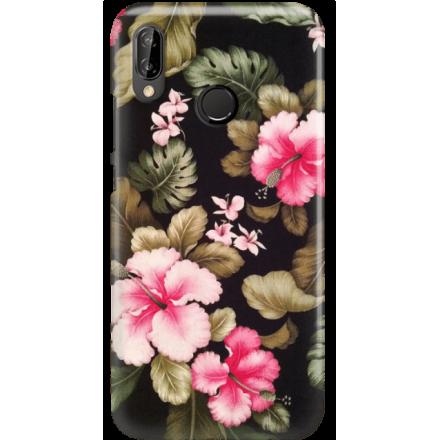 Etui na telefon Huawei P20 Lite Kwiatowy Raj